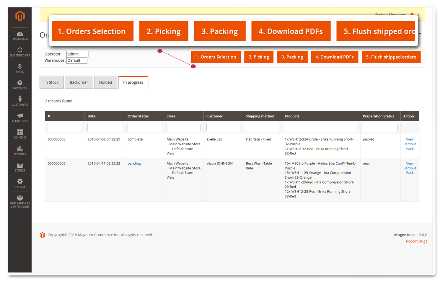 embedded erp magento 2 features listing 2