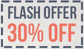 Flash offert 30%