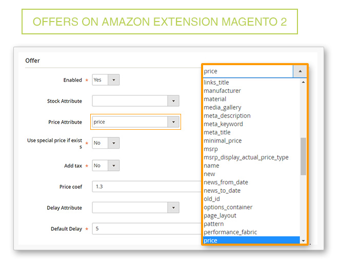 Offer on Amazon Extension Magento 2