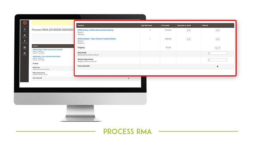 Process RMA image